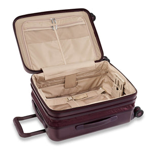 Briggs & Riley Sympatico Domestic Carry-On Expandable Spinner in Plum expanded view