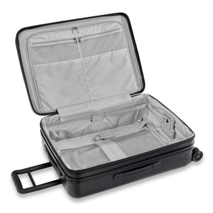 Briggs & Riley Sympatico Medium Spinner Expandable in Black inside view