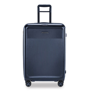 Briggs & Riley Sympatico Medium Spinner Expandable in Navy front view