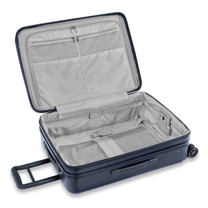 Briggs & Riley Sympatico Medium Spinner Expandable in Navy inside view