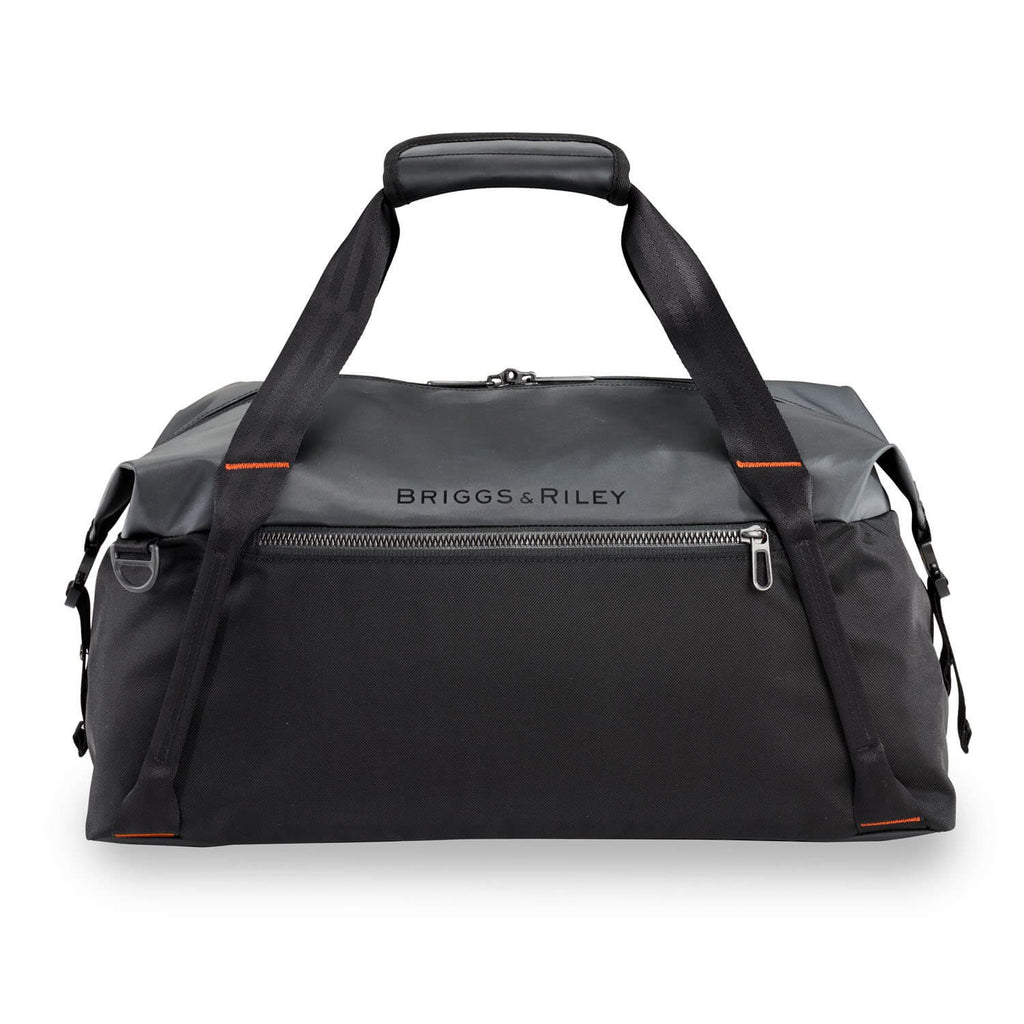 Briggs & Riley ZDX Cargo Duffle in Black front view