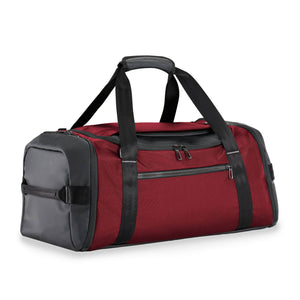 Briggs & Riley ZDX Large Travel Duffle in Brick side view