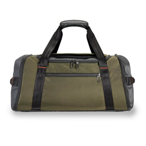 Briggs & Riley ZDX Large Travel Duffle in Hunter front view