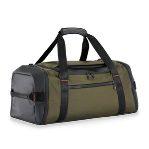 Briggs & Riley ZDX Large Travel Duffle in Hunter side view