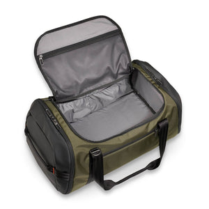 Briggs & Riley ZDX Large Travel Duffle in Hunter top view