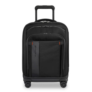 Briggs & Riley ZDX Domestic Carry-On Expandable in Black front view