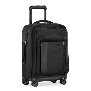 Briggs & Riley ZDX Domestic Carry-On Expandable in Black side view