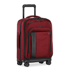 Briggs & Riley ZDX Domestic Carry-On Expandable in Brick side view