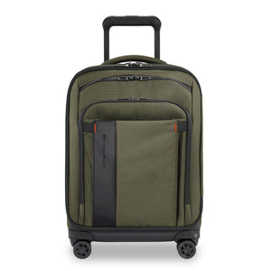 Briggs & Riley ZDX Domestic Carry-On Expandable in Hunter front view