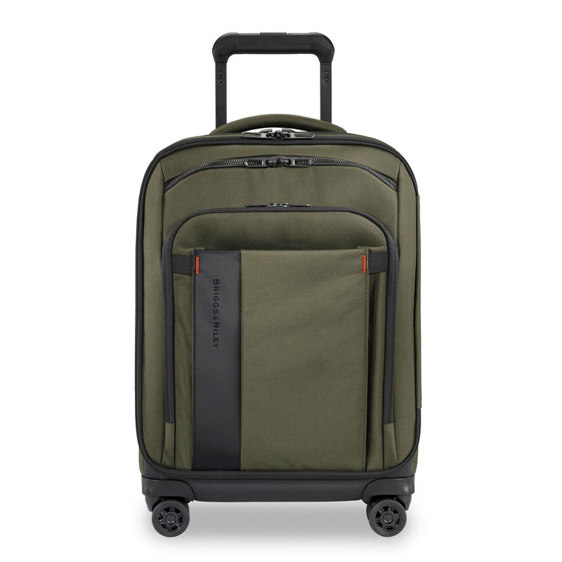 Briggs & Riley ZDX International Carry-On Expandable in Hunter front view