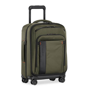 Briggs & Riley ZDX International Carry-On Expandable in Hunter side view