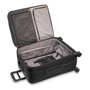 Briggs & Riley ZDX Medium Expandable Spinner in Black inside view