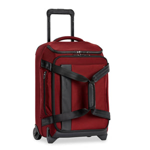 Briggs & Riley ZDX International Carry-On Upright Duffle in Brick side view