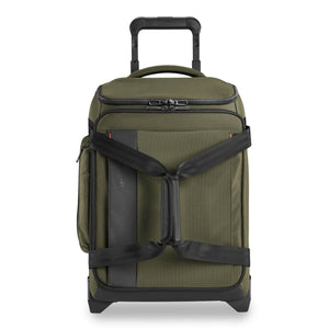 Briggs & Riley ZDX International Carry-On Upright Duffle in Hunter front view