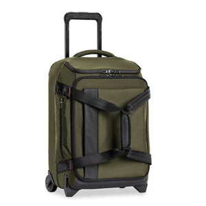 Briggs & Riley ZDX International Carry-On Upright Duffle in Hunter side view