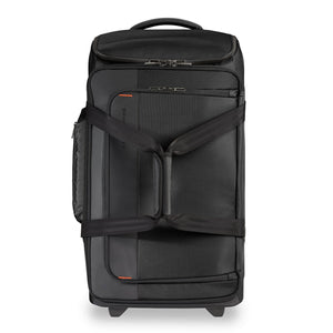 Briggs & Riley ZDX Medium Upright Duffle in Black front view