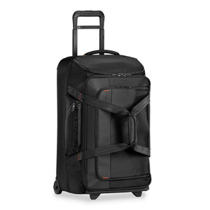 Briggs & Riley ZDX Medium Upright Duffle in Black side view