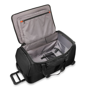 Briggs & Riley ZDX Medium Upright Duffle in Black inside view