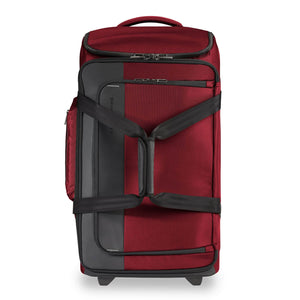Briggs & Riley ZDX Medium Upright Duffle in Brick front view