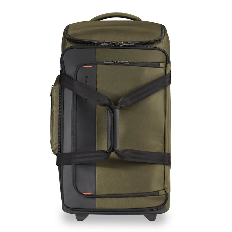Briggs & Riley ZDX Medium Upright Duffle in Hunter front view