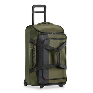 Briggs & Riley ZDX Medium Upright Duffle in Hunter side view