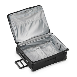 Briggs & Riley Baseline Medium Expandable Upright in Black inside view
