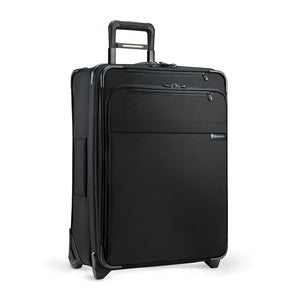 Briggs & Riley Baseline Medium Expandable Upright in Black side view