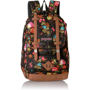 JanSport Baugman Backpack in Countryside Garden front view