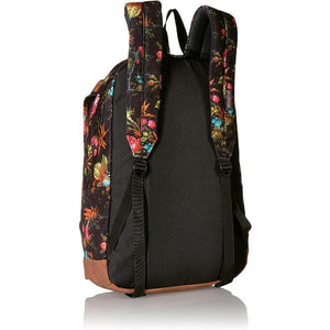 JanSport Baugman Backpack in Countryside Garden rear view