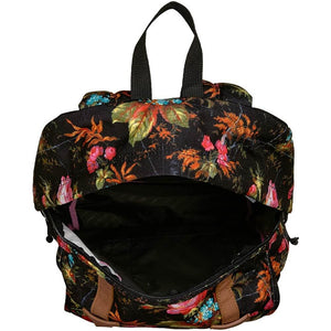 JanSport Baugman Backpack in Countryside Garden inside view