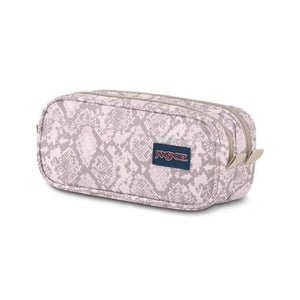JanSport Large Accessory Pouch in Classic Python side view