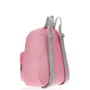 JanSport Half Pint Backpack in Strawberry Pink side view