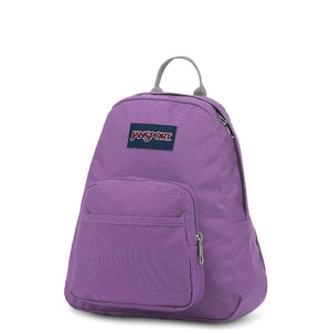 JanSport Half Pint Backpack in Vivid Lilac side view