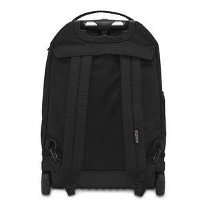 JanSport Driver 8 Rolling Backpack in Black rear view