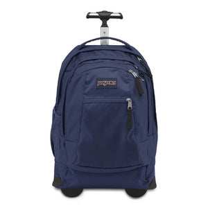 JanSport Driver 8 Rolling Backpack in Navy front view