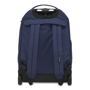 JanSport Driver 8 Rolling Backpack in Navy rear view