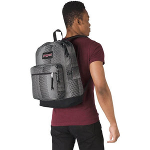JanSport Right Pack Expressions Backpack in Geo Fade on model
