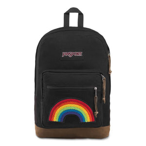JanSport Right Pack Expressions Backpack in Rainbow Power front view