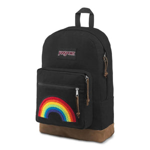 JanSport Right Pack Expressions Backpack in Rainbow Power side view