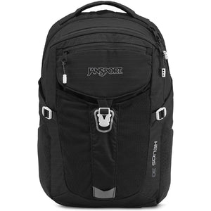 JanSport Helios 30L Backpack in Black front view