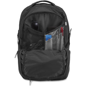 JanSport Helios 30L Backpack in Black inside view