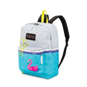 JanSport High Stakes Backpack in Pool Zone side view