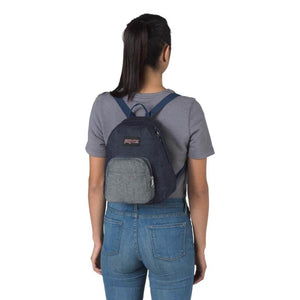 JanSport Half Pint FX Backpack in Double Denim - Forero's Vancouver Richmond