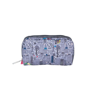 LeSportsac Women's Rectangular Cosmetic in Hello Kitty City front view