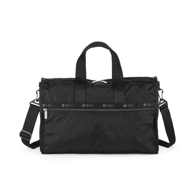LeSportsac Women's Medium Weekender in Black front view