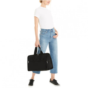 LeSportsac Women's Medium Weekender in Black on model