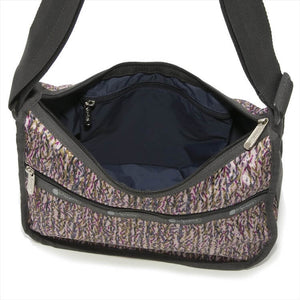 LeSportsac Women's Classic Hobo Bag in Sprinkle Texture inside view