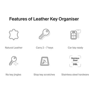 Leather Key Organizer