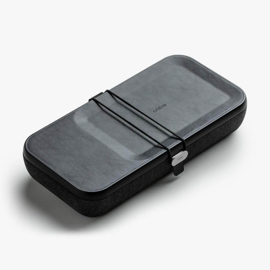 Orbitkey Nest in Black - side view
