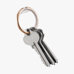 Orbitkey Ring Rose Gold - with keys
